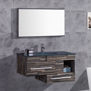 40 In. Plywood Vanity Set with Basin and Mirror (DK-TH9032-SET)