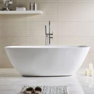 59 In Freestanding Bathtub - Acrylic White (DK-Q169-15)