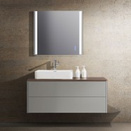 30 In. Wall Mount Bathroom Vanity Set with LED Mirror (DW1202-SET)