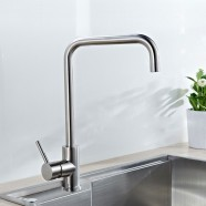 SUPOR Modern Style Stainless Steel Lead Free Kitchen Faucet (210107-12-LS)