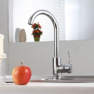 SUPOR Modern Style Stainless Steel Lead Free Kitchen Faucet (250807-01-LS)