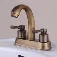 Decoraport Classic Style Basin&Sink Faucet - Double Hole Double Lever (6902)