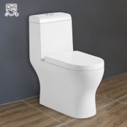 Jet Siphonic Water Saving Ceramic One-piece Toilet (DK-ZBQ-12218)