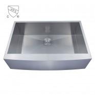 Stainless Steel Single Bowl Handmade Kitchen Sink (DK-SC-AF3322-R0)