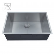 Stainless Steel Single Bowl Handmade Kitchen Sink (DK-SC-AS3018-R0)
