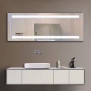 65 x 24 In. LED Lighted Mirror, Touch Button (DK-OD-C230)