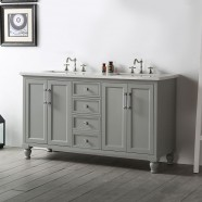 60 In. Bathroom Vanity (DK-6560-CG)