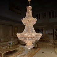 66-Light Large Hotel Crystal Ceiling Light (HY02SJD026A)
