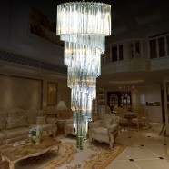 27-Light Large Hotel Crystal Ceiling Light (HY02SJX048A)