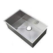 31.2 x 18 In. Stainless Steel Single Bowl Kitchen Sink (AS3118-R0)