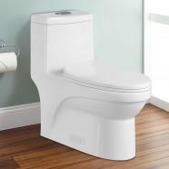 CUPC Dual Flush Water Saving Ceramic One-piece Toilet (DK-ZBQ-12050)