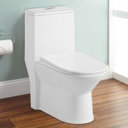 Siphonic Water Saving Ceramic One-piece Toilet (DK-ZBQ-12227)