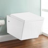 Wall Hung Toilet Bowl - White (DK-ZBQ-12260D)