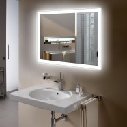 36 x 28 In LED Bathroom Mirror with Infrared Sensor (DK-OD-N031-IG)