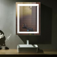 24 x 32 In Vertical LED Mirror, Touch Button (DK-OD-CK150)