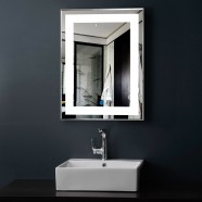 24 x 32 In Vertical LED Mirror, Touch Button (DK-OD-CK168)