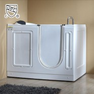 51 x 30 In Walk-in Whirlpool Soaking Bathtub - Acrylic White with Right Drain (DK-MQ380-R)