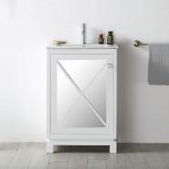 24 In. Freestanding Bathroom Vanity (DK-N524-W)