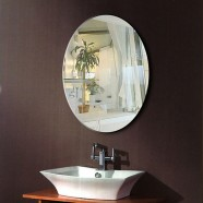 24 x 32 In Wall-mounted Oval Bathroom Mirror (DK-OD-B094)