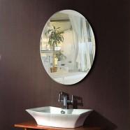 24 x 32 In Wall-mounted Oval Bathroom Mirror (DK-OD-B094)