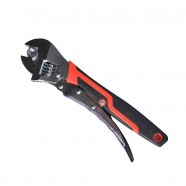 10 Inch Locking Adjustable Wrench with Antiskid Cover(WB-16D)
