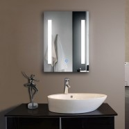 24 x 32 In Vertical LED Bathroom Mirror, Touch Button (DK-OD-C23)