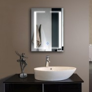 24 x 32 In Vertical LED Mirror, Touch Button (DK-OD-CL011)
