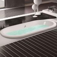 60 In Acrylic White Built-in Bathtub (DK-MEC3120A)