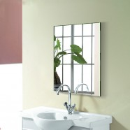 28 x 36 In Wall-mounted Rectangle Bathroom Mirror (DK-OD-B8016)