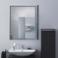 24 x 18 In. Wall-mounted Rectangle Bathroom Mirror (DK-OD-C226C)