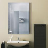 24 x 36 In. Wall-mounted Rectangle Bathroom Mirror (DK-OD-B067A)