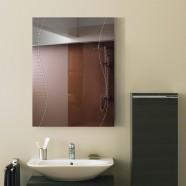 24 x 18 In. Wall-mounted Rectangle Bathroom Mirror (DK-OD-B068C)