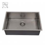 Stainless Steel Kitchen Sink, Single Bowl (DK-SC-AR3018-R10)