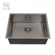 23 x 18 In. Stainless Steel Kitchen Sink, Single Bowl (AR2318-R10)