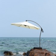 9.8 ft. Deluxe Polyester Offset Patio Umbrella (911AL-1)