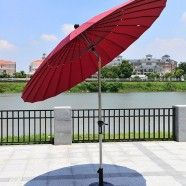 8.2 ft. Outdoor Wind Resistant Patio Umbrella (912AL-1)