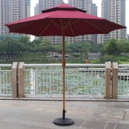 8.9 ft. Outdoor Wind Resistant Patio Umbrella (913IR-1)