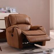 Brown Velvet Manual Reclining Chair (LH-EA91Z-1)