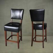 Upholstered Wooden Bar Stool (PJL609)