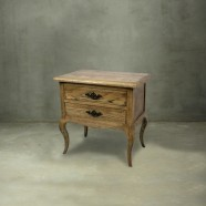 2 Drawers End Table (PJG007)
