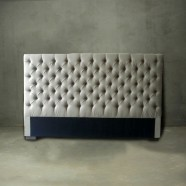 King Size Tufted Upholstered  Headboard (PJB157)
