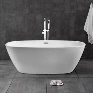 60 In White Acrylic Freestanding Bathtub (DK-28572)