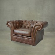 Tufted Chesterfield Chair (PJS06601)