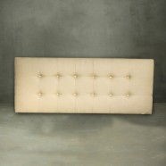 Queen Size Tufted Upholstered Headboard (PJB222)
