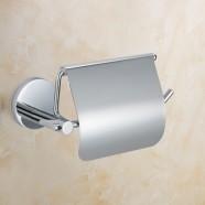 Chrome Brass Toilet Paper Holder (6406)