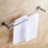 23.5 Inch Chrome Brass Double Towel Bar (2510)