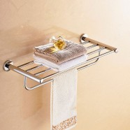 25 Inch Chrome Brass Towel Bar (2816)