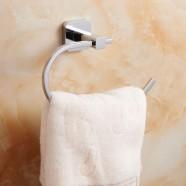 Chrome Brass Towel Ring (2507)