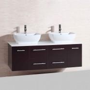 60 In. Wall Mount Bathroom Vanity (DK-T9146-V)
