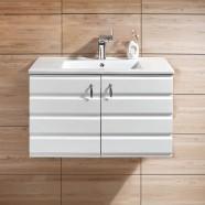 31 In. Wall Mount Bathroom Vanity (DK-613800-V)